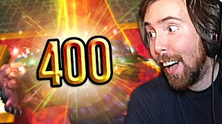 400 ATTEMPTS FOR THIS! Asmongold Stream Highlights #43