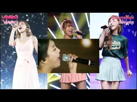 SM Female Vocalists Vocal Battle (에스엠 여자보컬리스트 음역대 대결)