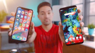 Samsung Galaxy S9 Plus vs Apple iPhone X!
