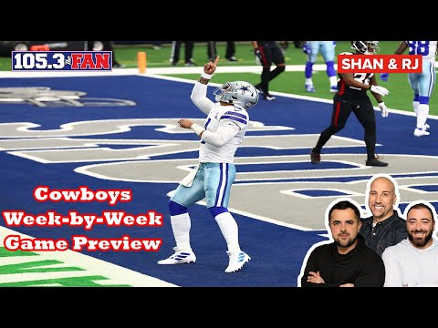 Previewing the Dallas Cowboys Schedule | Shan & RJ