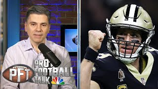 PFT Overtime: Drew Brees' future in New Orleans Saints, Steelers' WR options | NBC Sports