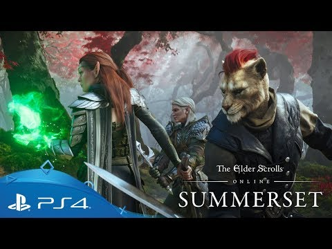 The Elder Scrolls Online: Summerset | Sinematik Fragman | PS4