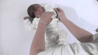 How to dress your newborn baby - Dimples by Jane Anne