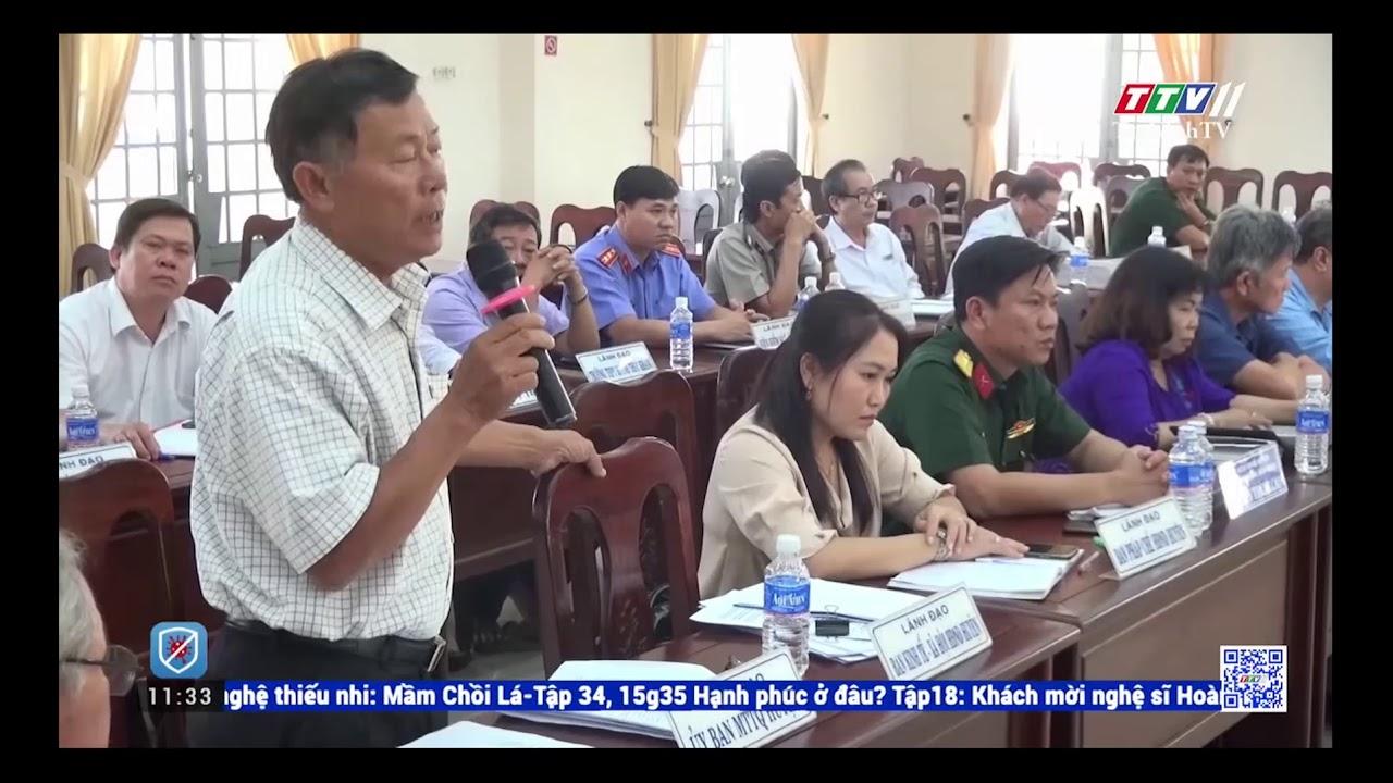 UBND huyện Bến Cầu họp phiên thường kỳ tháng 11/2020   Huyện Bến Cầu   TâyNinhTV