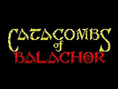 CATACOMBS OF BALACHOR Zx Spectrum by Lasasoft
