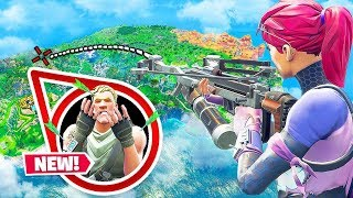 *NEW* CROSSBOW World Record LONGEST Shot in Fortnite Battle Royale!