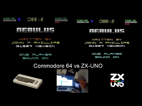 Commodore 64 real vs ZX-UNO. El test definitivo