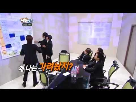 [JTBC] 신화방송 (神話, SHINHWA TV) 34회 명장면 - 혜성의 발(?) 시리즈