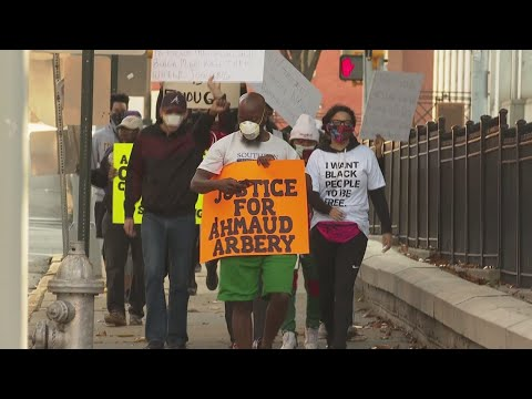 Atlanta protest demands justice for Ahmaud Arbery
