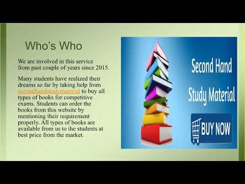 Buy Allen Study Material for second-hand