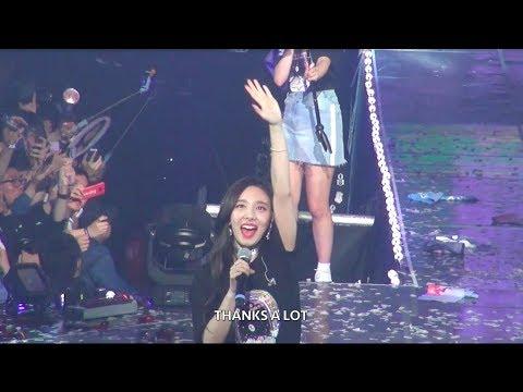 180518 TWICELAND ZONE 2 : Fantasy Park 타이틀곡 메들리+엔딩 나연 직캠 (Twice Nayeon Fancam)