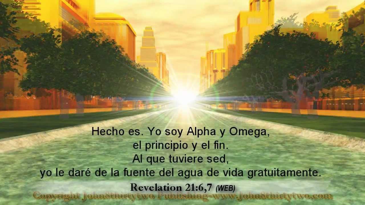 Nueva Jerusalén, Apocalipsis 21, 22, revelación, español