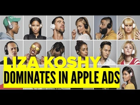 Liza Koshy Dominates Celebrities in Apple Ads
