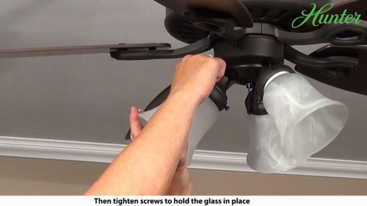 How To Install A Hunter 5xxxx Series Model Ceiling Fan