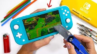 Nintendo Switch Lite Durability Test! - Will the cheap switch survive?