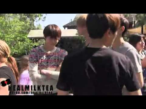 [Fancam] 120519EXO in disney - HunHan Focus~❤