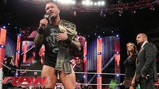 "Randy Orton's ""Champion of Champions Ceremony"": Raw, Dec. 16, 2013"