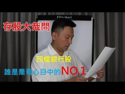 2019遠東銀.台新金.第一金.中信金四檔金融股的存股比較說明