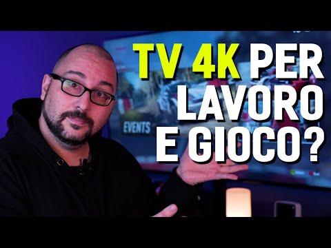 COME USARE UNA TV 4K COME MONITOR, per l …