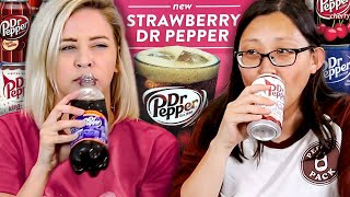 We Tasted EVERY Dr Pepper Flavor We Could Find