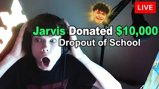 Donating $10,000 To Young Fortnite Streamers