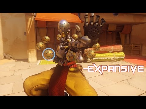 Overwatch Gameplay Review & Zenyatta Tips [PC] 1080p - EXP