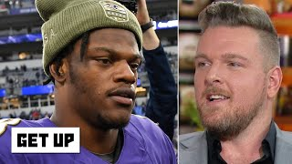 Pat McAfee: Lamar Jackson is impossible to defend and makes the Ravens look unstoppable | Get Up