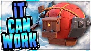BATTLE BLIMP ATTACK STRATEGIES | THIS SIEGE HAS ITS PLACE IN THE META | Clash of Clans
