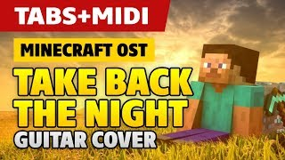 Minecraft - Take Back The Night (Easy Guitar Tutorial with Tabs)