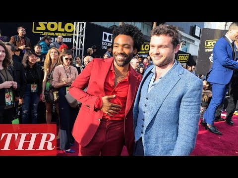 Alden Ehrenreich, Donald Glover, Emilia Clarke and More at 'Solo: A Star Wars Story' Premiere | THR