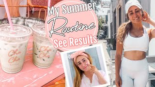 How to switch up your routine to see results! Summer Skincare