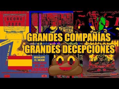 ZX SPECTRUM GRANDES COMPAÑIAS GRANDES DECEPCIONES SPAIN