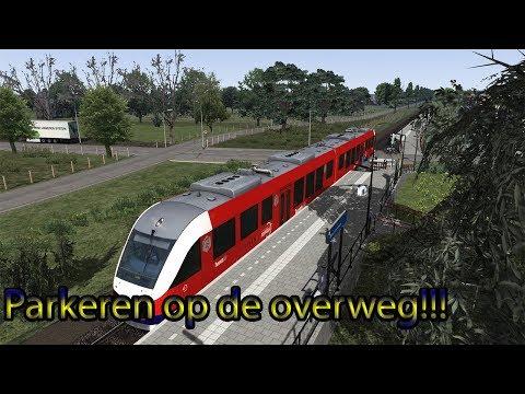 Parkeren op de overweg!!! Train Simulator 2019