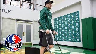 Brad Stevens: Gordon Hayward 'making progress, still has a ways to go' | NBA Countdown | ESPN