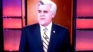 Leno on Letterman sex scandal