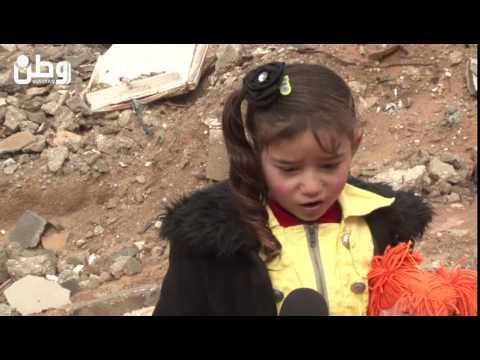 """الطفلة شيماء شاهدة على """"المذبحة"""" ولم يبق في ذاكرتها سوى صور الدم"""