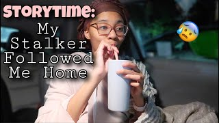 MY SCARY STALKER STORYTIME WHILE SLEEPING IN MY CAR OVERNIGHT | TayPancakes