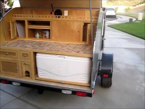 Campers For Sale Near Me >> Teardrop Trailer For Sale - SOLD - YouTube