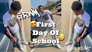 GRWM: FIRST DAY OF SCHOOL 2019😍📚   SENIOR YEAR