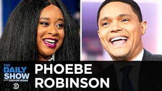 """Phoebe Robinson - Soaking in the Success of """"2 Dope Queens""""   The Daily Show"""