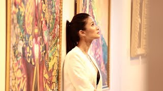 How did actress Heart Evangelista discover her love for painting? | Front Row