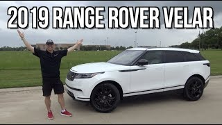 Luxury Midsize SUV: 2019 Land Rover Range Rover Velar on Everyman Driver