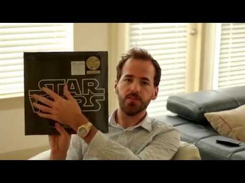 Star Wars Limited Edition Gold Vinyl Unboxing