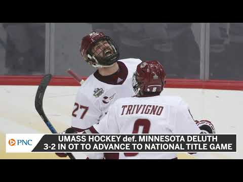 UMass Hockey To Face St. Cloud State In National Championship Saturday