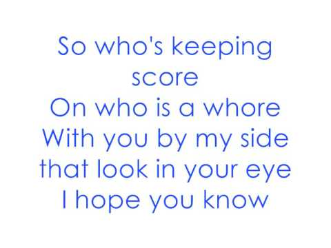 You Me At Six ~ Save It For The Bedroom (Lyrics)