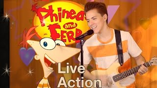 Phineas & Ferb - Gitchee Gitchee Goo (Shot-for-Shot Live-Action Remake)