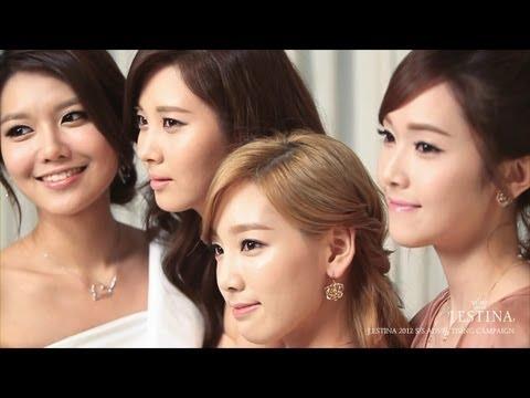 Girls' Generation 소녀시대_J.ESTINA Promotion Clip_Making Film