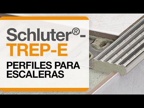 Cómo instalar un remate para cantos de cerámica sobre escaleras: Schluter®-TREP-E