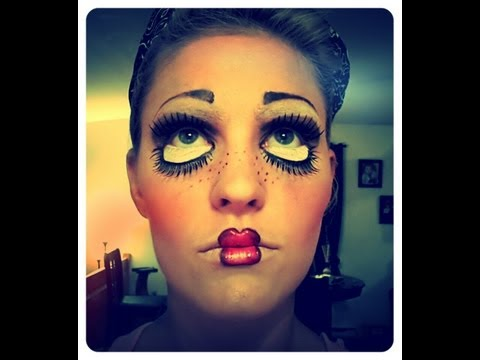 Maquillage halloween la poup e diabolique musica movil - Maquillage poupe demoniaque ...