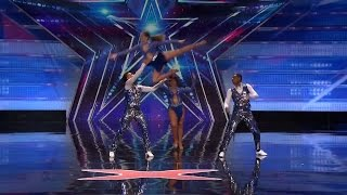 America's Got Talent 2015 S10E05 Semeneya Perform an Amazing Salsa Through Injury